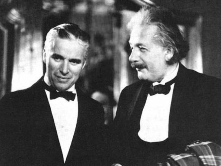 Chaplin & Einstein