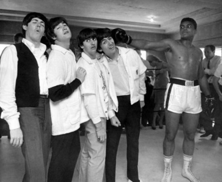 Muhammad Ali Beats The Beatles