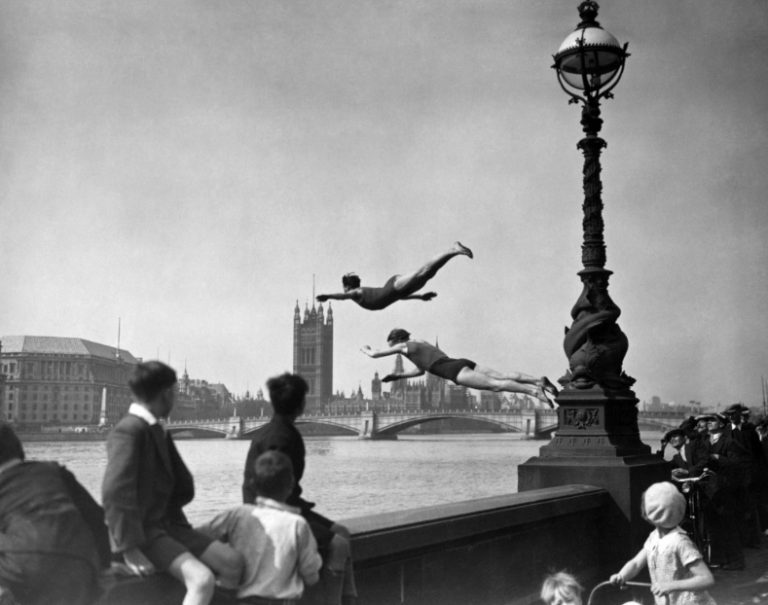 Diving In The Thames