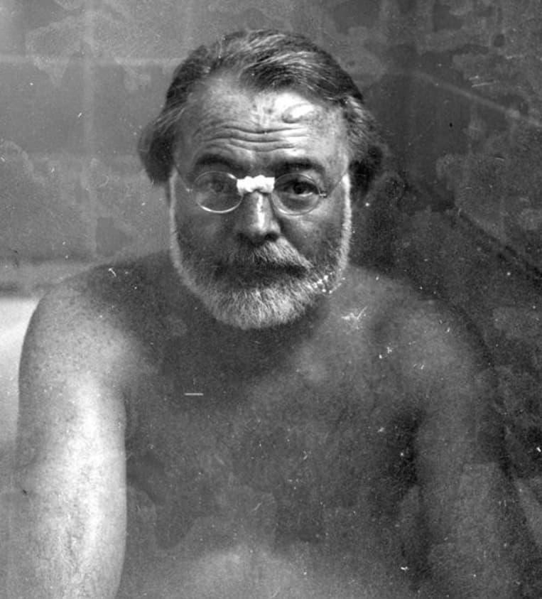 Hemingway In The Tub