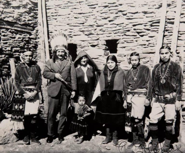 Einstein At The Hopi House