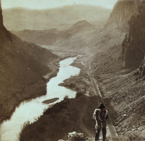 Transcontinental Railroad, 1868