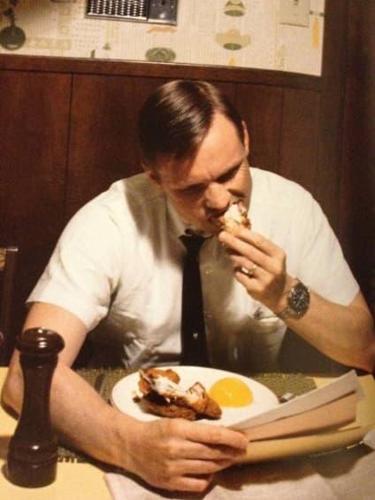 Neil Armstrong's Last Breakfast