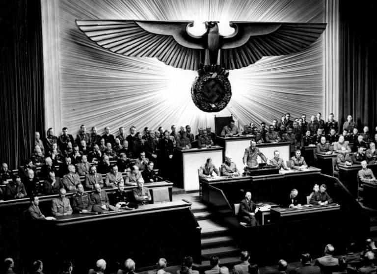 Hitler Declares War On US