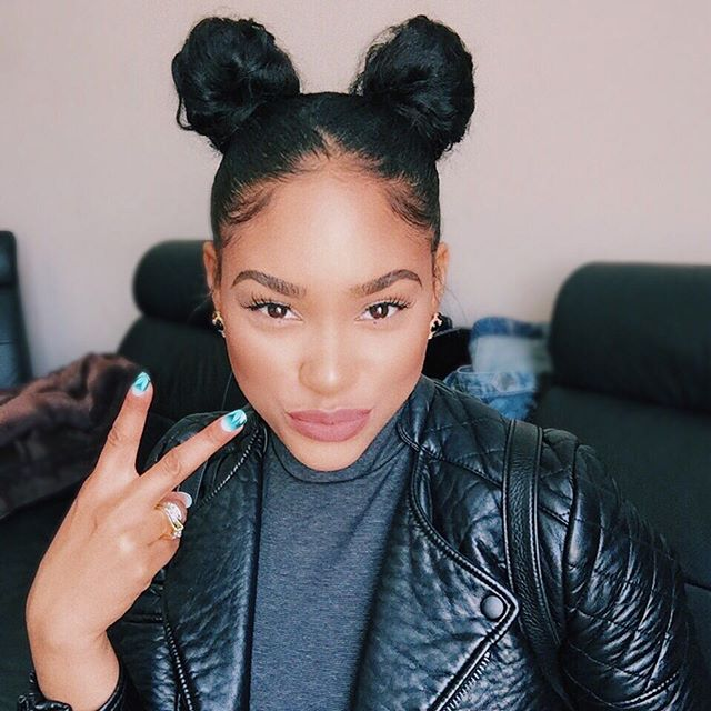 Pigtailed Buns