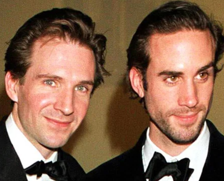 Joseph Fiennes And Jacob Fiennes,