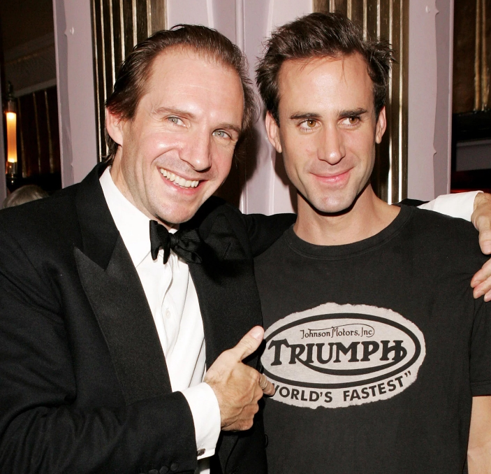 Joseph Fiennes And Jacob Fiennes