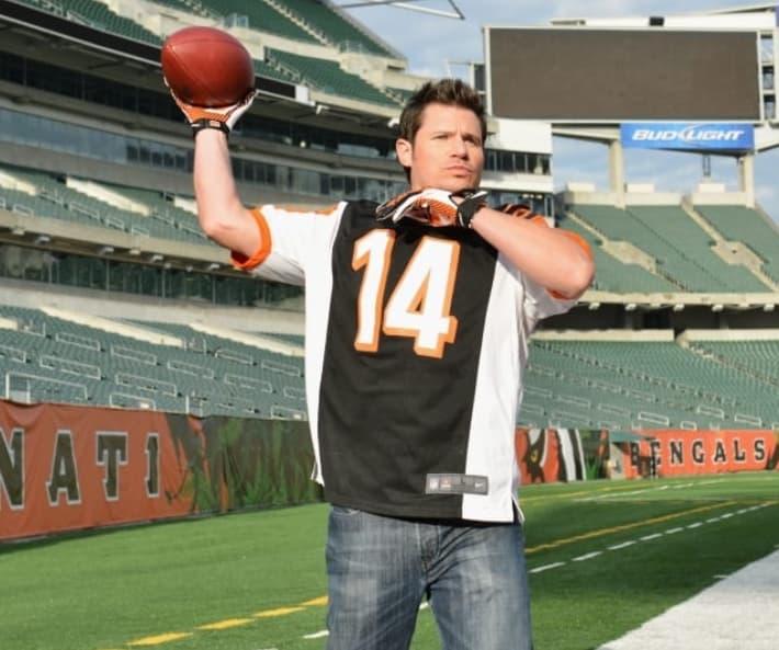 Nick Lachey Cincinnati Bengals