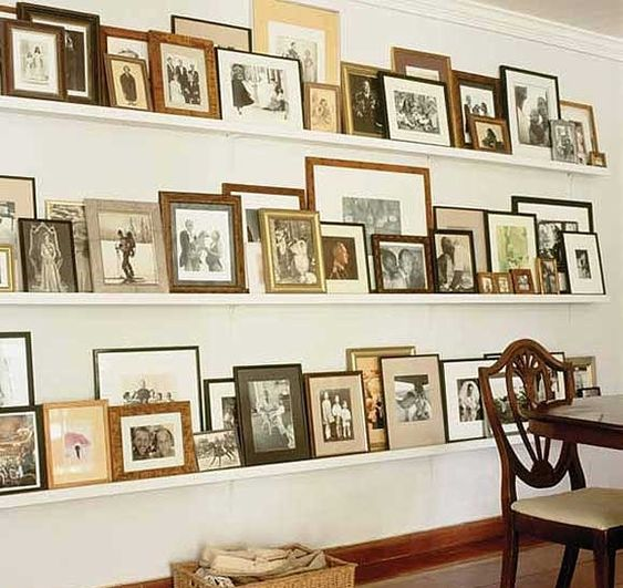 Covered With Framed Photos
