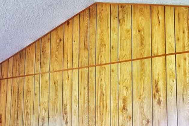 Keeping Wood Paneling