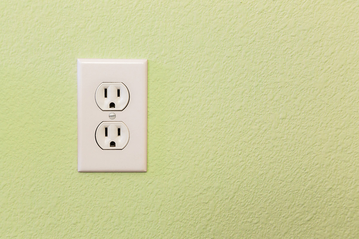 Not Replacing Outlet Covers
