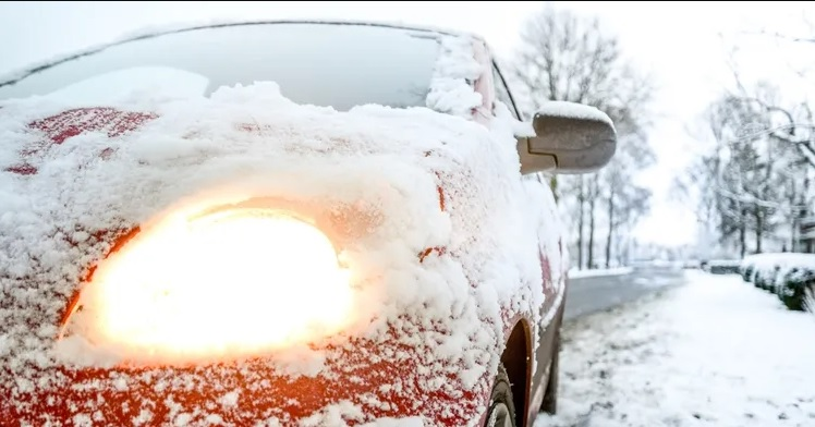 Lessen Frost By Parking Your Car Facing East