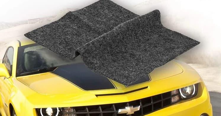 The Nanotech Car Scratch Remover Cloth