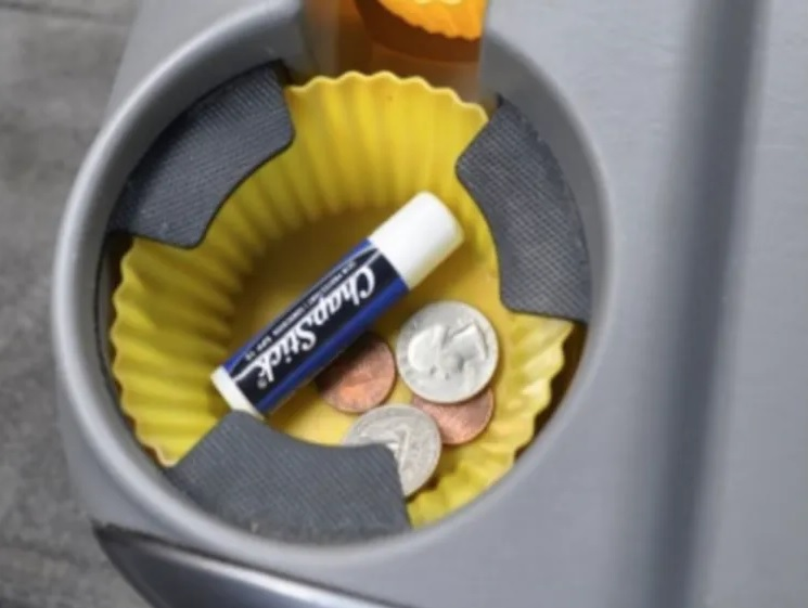 Keep Your Cup Holder Clean By Doing This